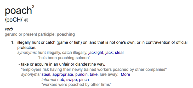 Definition of Poach