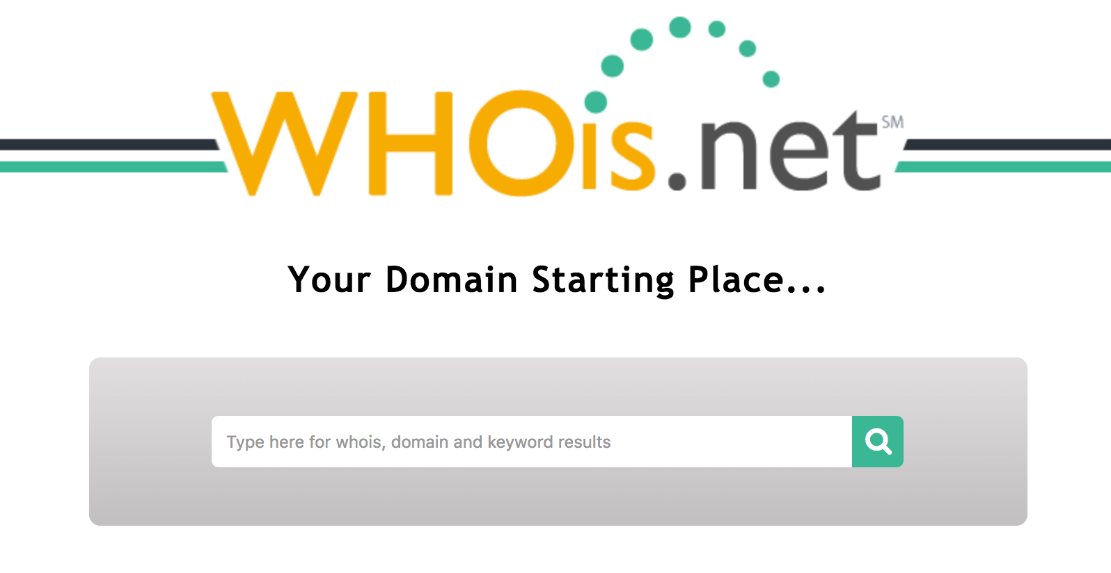 Do a Whois Search