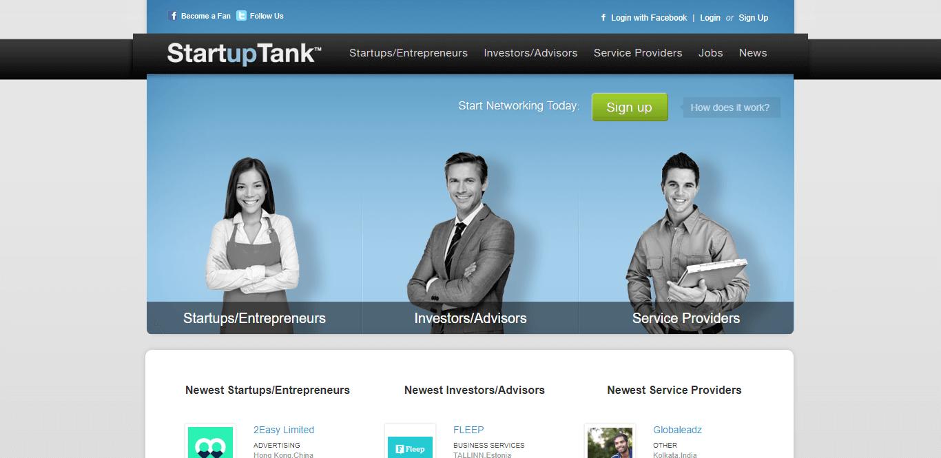 Startup Tank