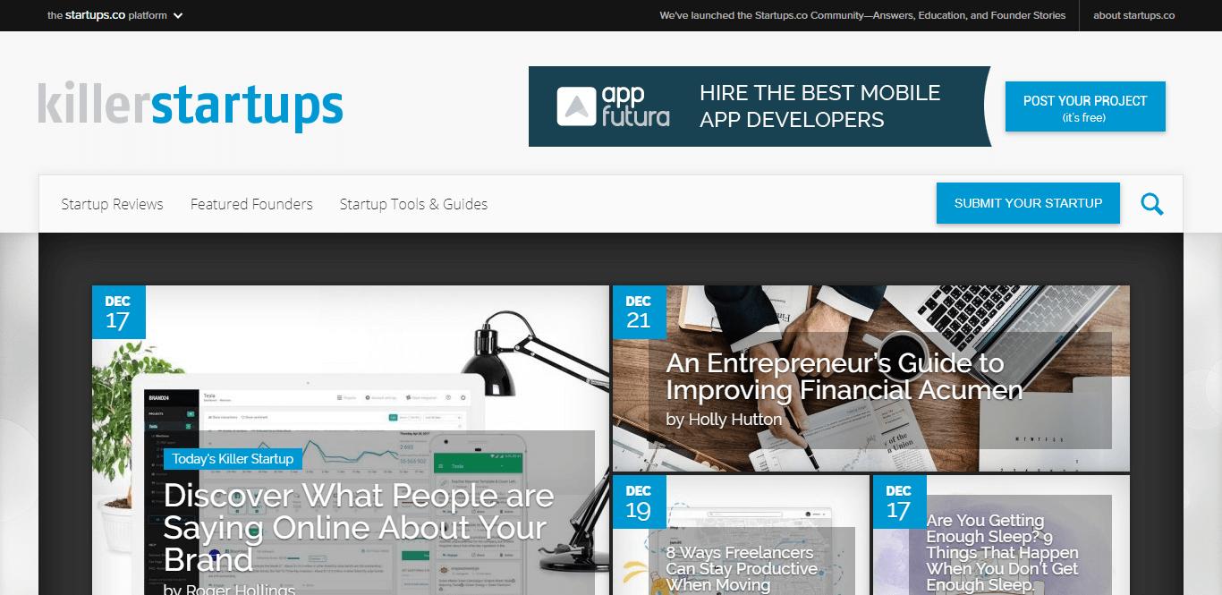 Killer Startups