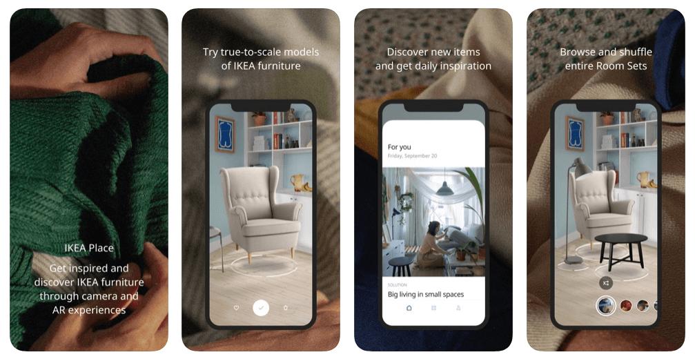 ikea app examples