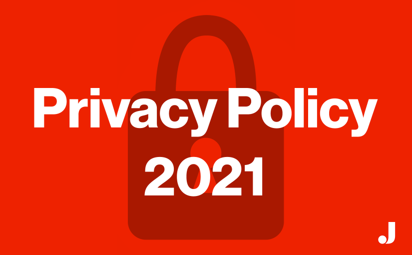 website privacy policy in the year 2021